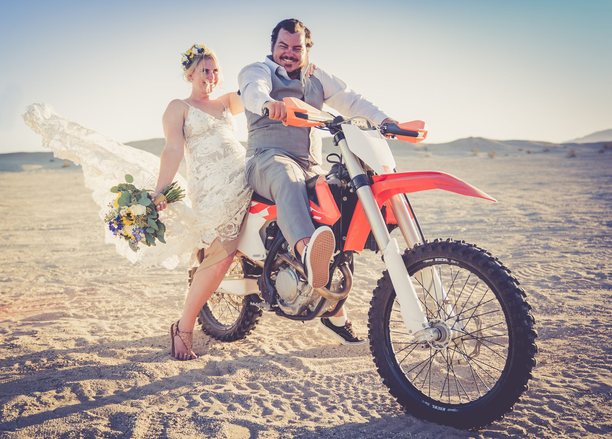 Ocotillo Wells San Diego Wedding