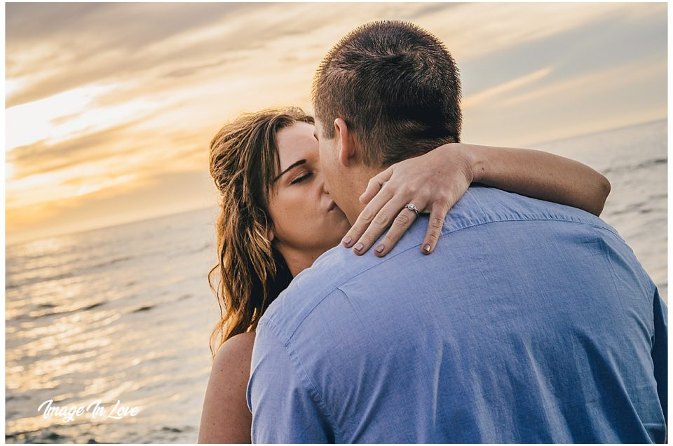 Sunset at Sunset Cliffs Engagement Session